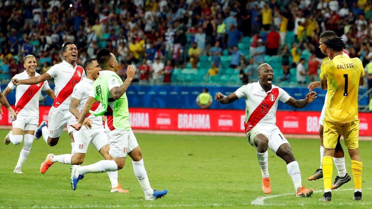 Perú fue efectivo y marcó los 5 goles ante Uruguay