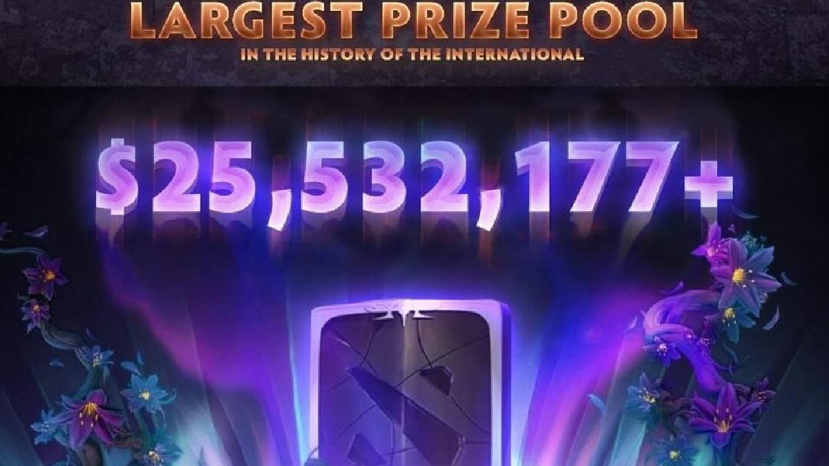Nuevamente Dota 2 rompe récords en recaudación de premios.
