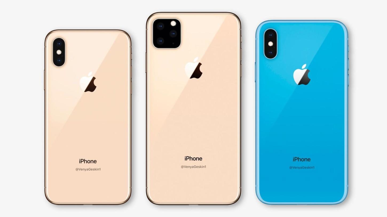 Posible diseño final del iPhone 2019