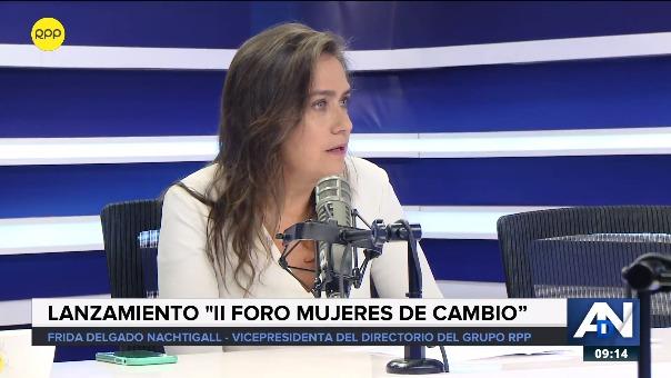 Frida Delgado en RPP Noticias.