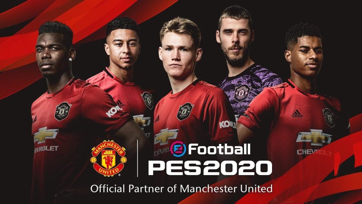 Machester United: el nuevo partner oficial de eFootball PES 2020.