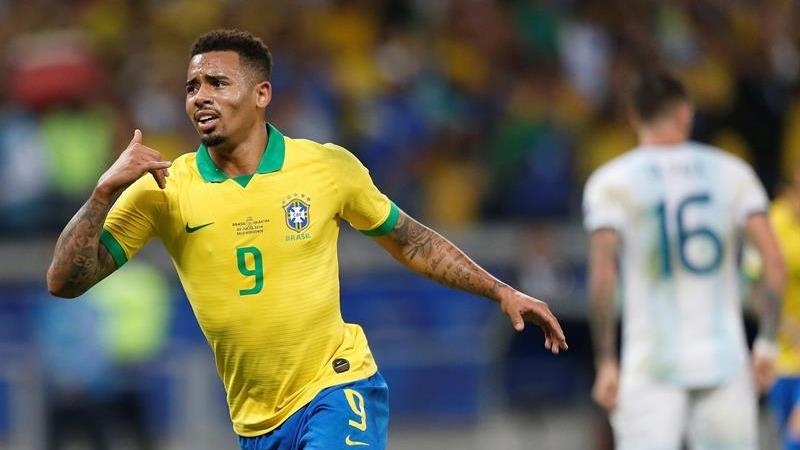 Brasil venció 2-0 a Argentina en la semifinal de la Copa América 2019