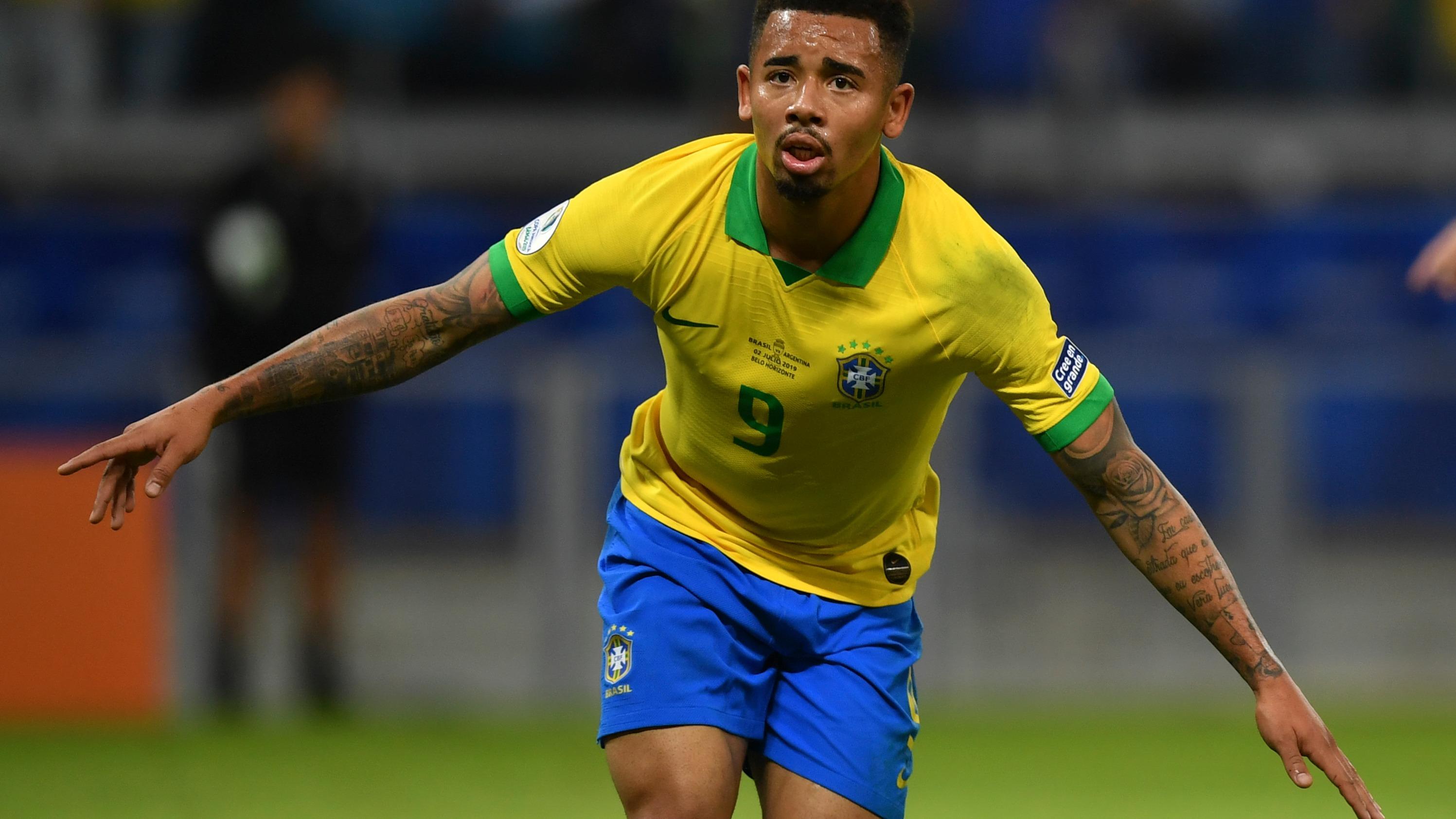 Gabriel Jesús y Firmino anotaron los goles que le dieron la clasificación a Brasil a la final de la Copa América 2019