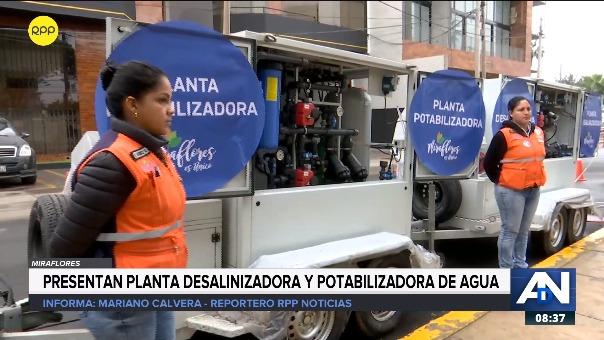 Servicio de agua potable será restringido 3 días en 20 distritos por obras.