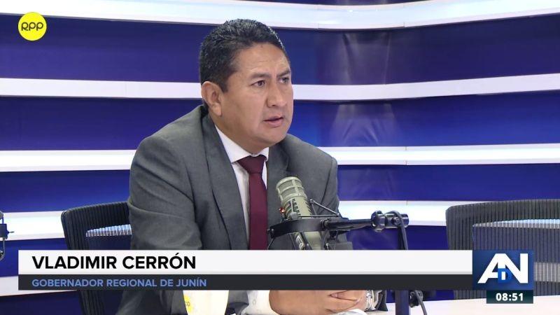 Vladimir Cerrón estuvo esta mañana en Ampliación de Noticias.