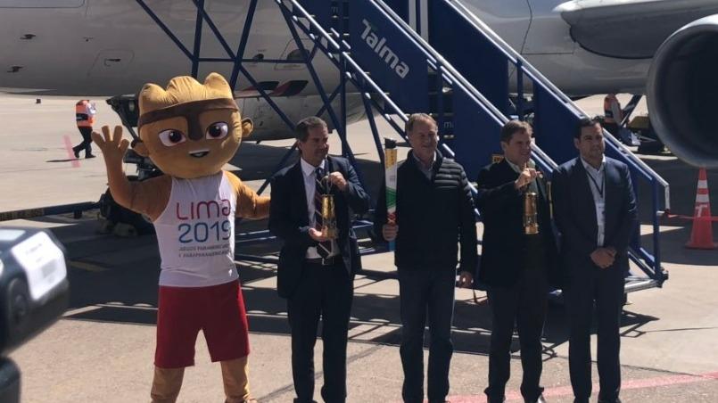 La antorcha panamericana llegó a Cusco.