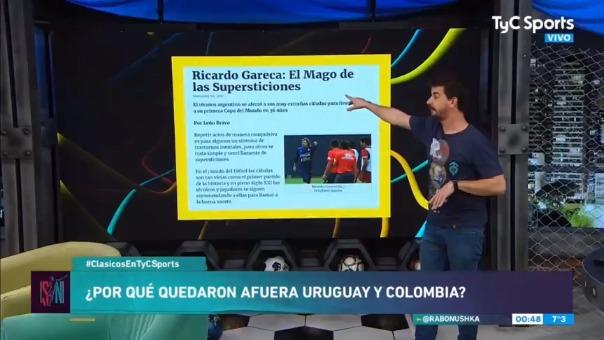 Hablaron de Ricardo Gareca en la televisión argentina.