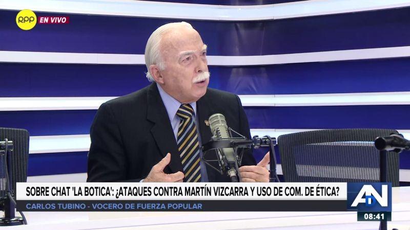 Carlos Tubino estuvo esta mañana en Ampliación de Noticias.