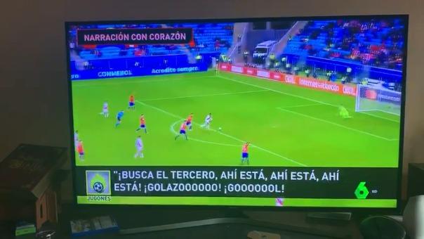 El relato de Gino Bonatti para RPP Noticias causó furor en la televisión española.