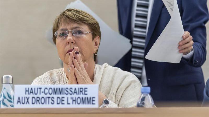 El informe de Bachelet acusa al Gobierno de Nicolás Maduro de
