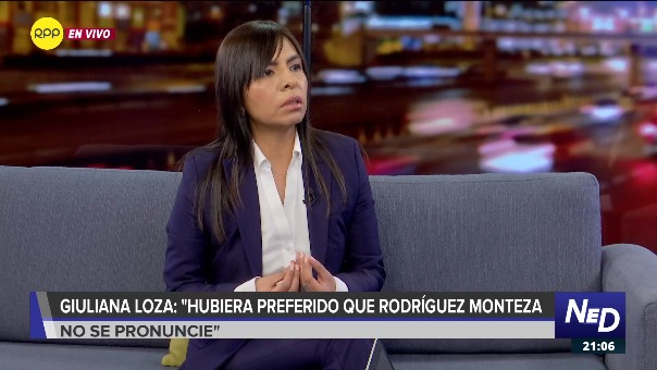 Giuliana Loza reveló cómo se sintió su defendida al enterarse de la suspensión de audiencia.