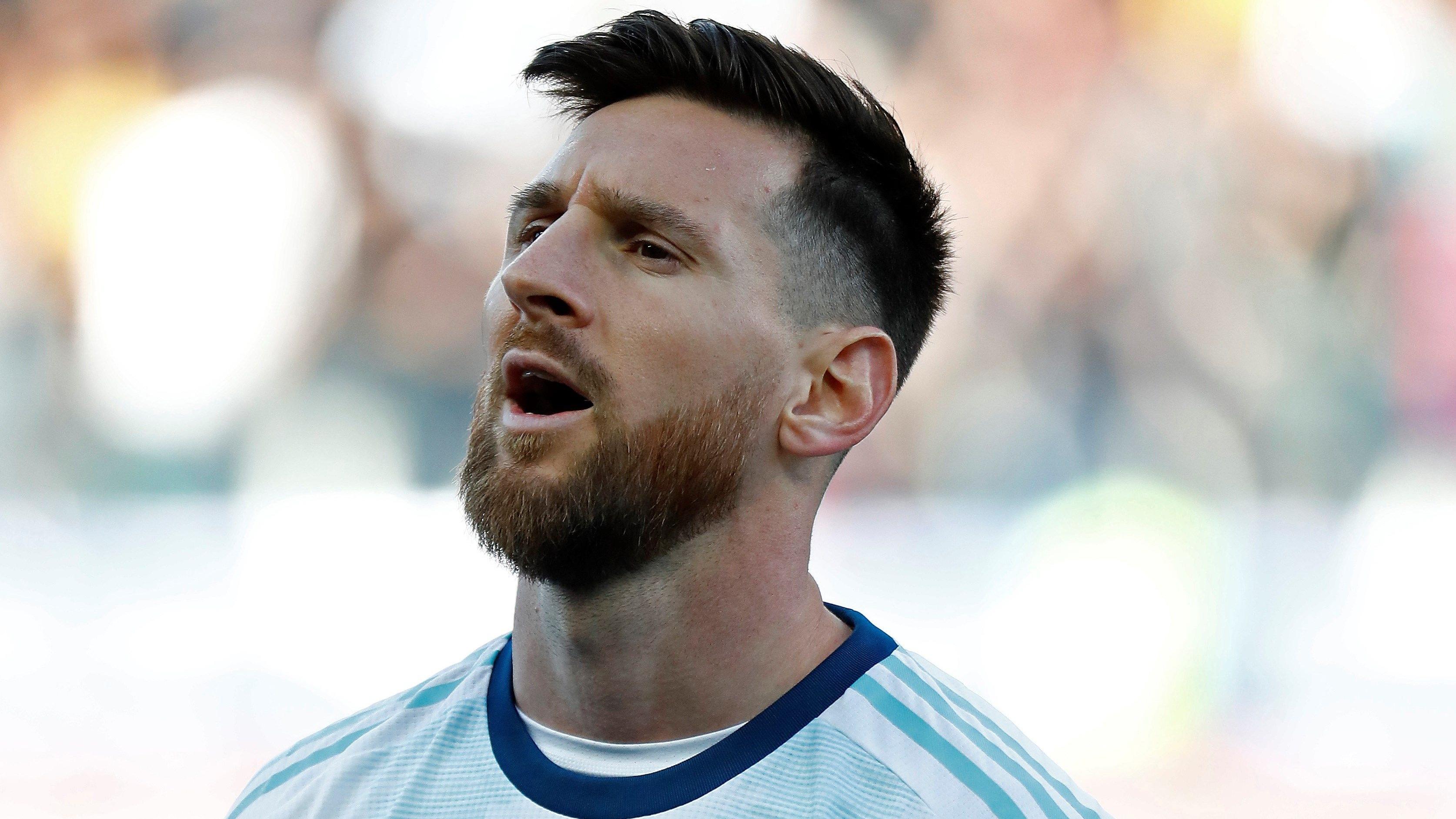 Argentina frente a Chile por la Copa América 2019.