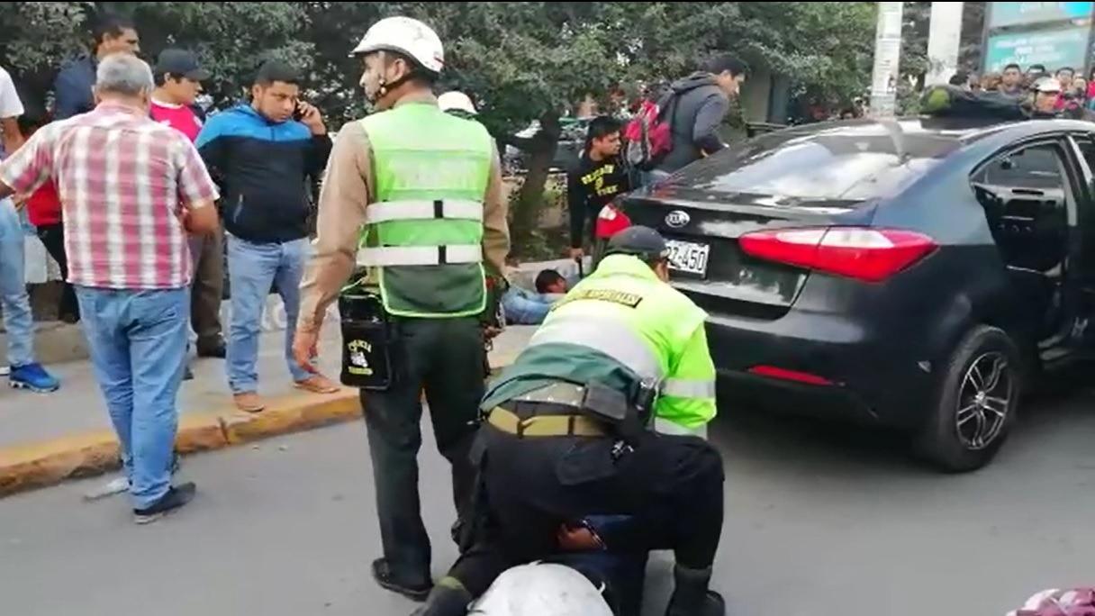 Ciudadanos aplaudieron la labor oportuna de la Policía Nacional.