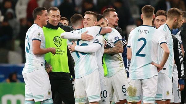 Argentina versus Chile por el tercer lugar de la Copa América 2019.