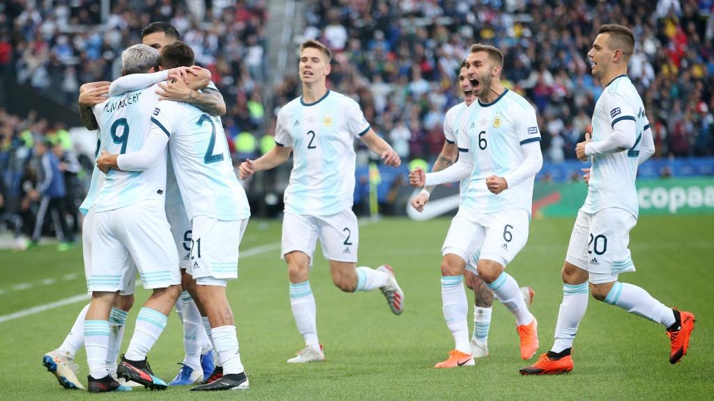 Argentina venció 2-1 a Chile y se quedó con el tercer lugar de la Copa América 2019