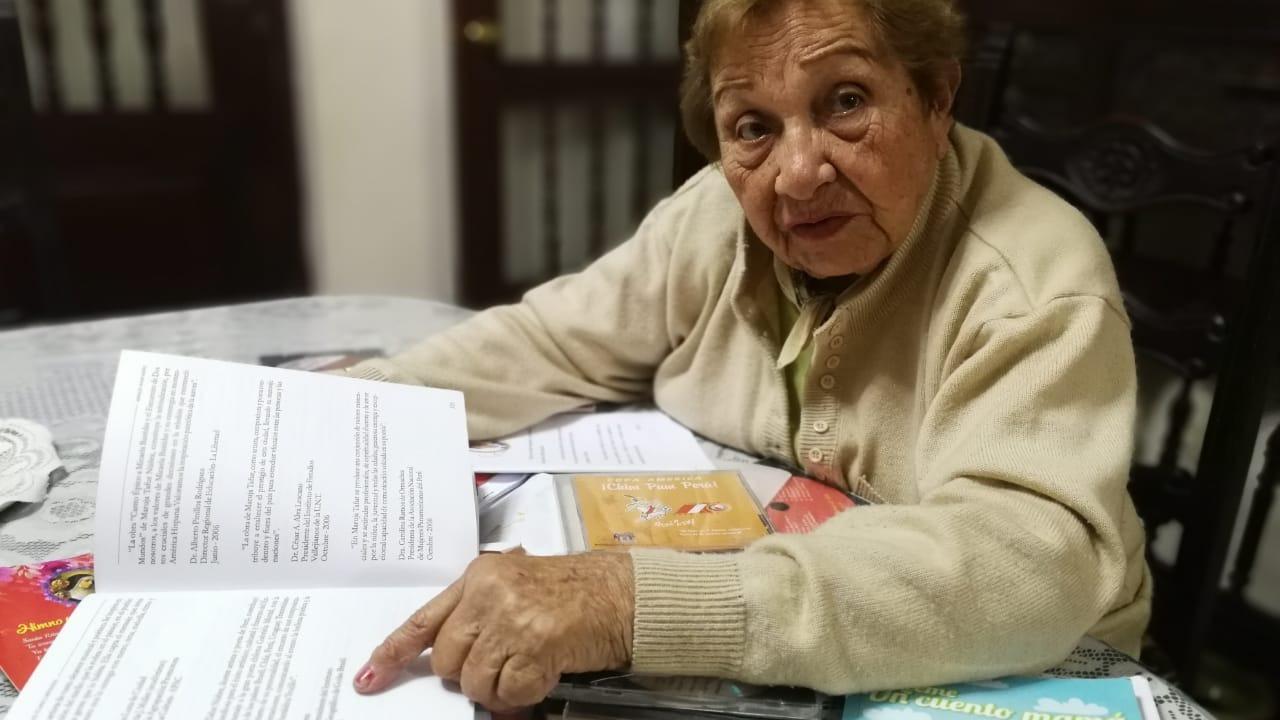 La compositora destaca el desempeño de la selección peruana.