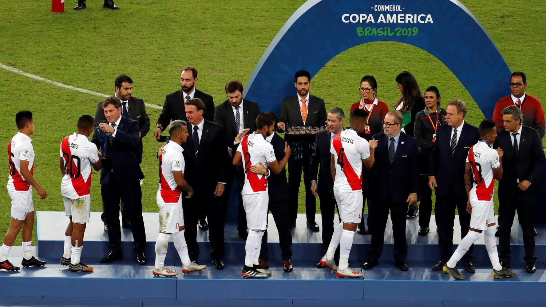 El plantel de la Selección Peruanafue premiado con la medalla de subcampeón de la Copa América 2019.