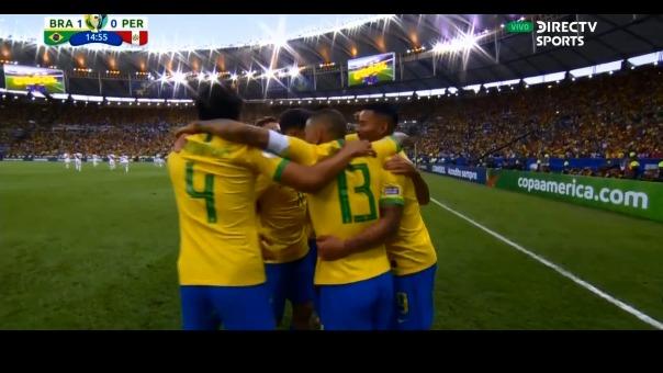 Así fue el gol anotado por Everton en la final de la Copa América 2019.