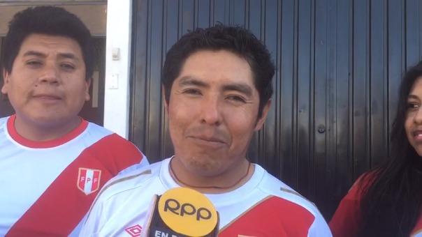 Edilberto Argüire, espera que Perú gane su tercera Copa América.