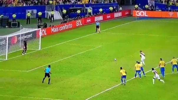 Paolo Guerrero marcó en la final ante Brasil su gol número 14 en la Copa América.