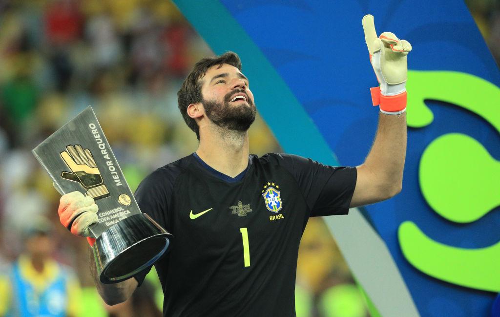 1. Alisson Becker, arquero, Brasil | El portero brasileño terminócon más vallas invictas (5) y mayor porcentaje de atajadas (88,9%), entre quienes disputaron al menos cuatro encuentros.