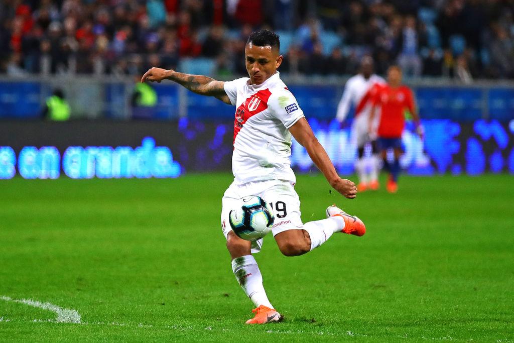 7. Yoshimar Yotun, volante, Perú. |Fue el jugador con más intercepciones (17) y recuperaciones (53) de la Copa América 2019; además, anotó un gol y fue el jugador de Perú que completó más pases (271).