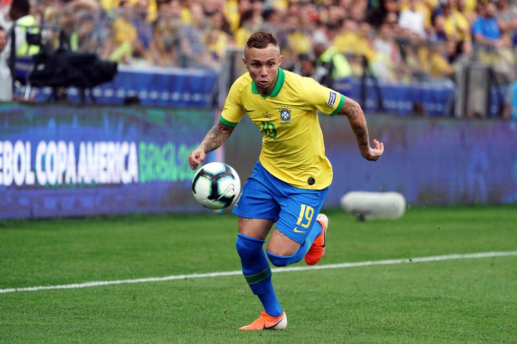 9. Everton, delantero, Brasil |El brasileño convirtió tres goles (máximo en el torneo junto a P. Guerrero); también fue el segundo jugador con más rivales eludidos (19) y tuvo la mejor diferencia de goles sobre goles esperados (+1,9).