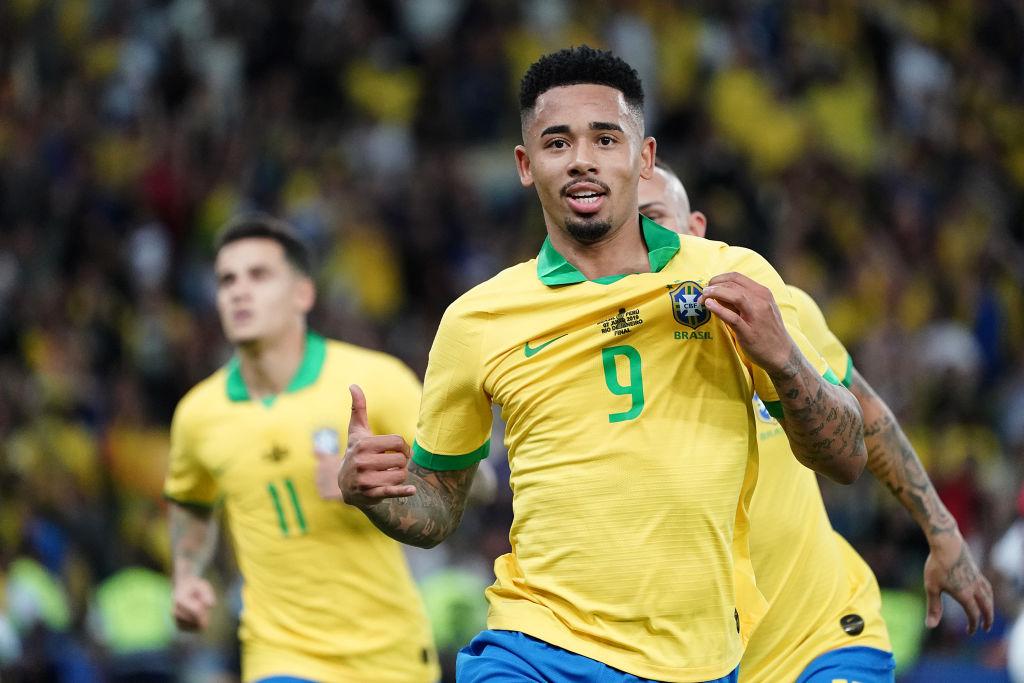 10. Gabriel Jesús, delantero, Brasil | El atacante brasileño anotó dos goles y dio dos asistencias, eludió 17 rivales (tercer máximo en el torneo), y tuvo cinco tiros al arco (máximo en Brasil).