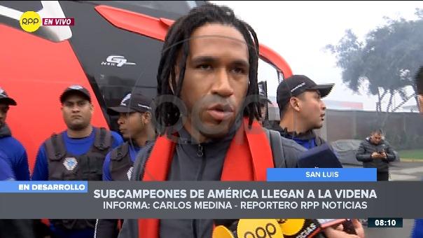 Pedro Gallese arquero de la Selección Peruana.