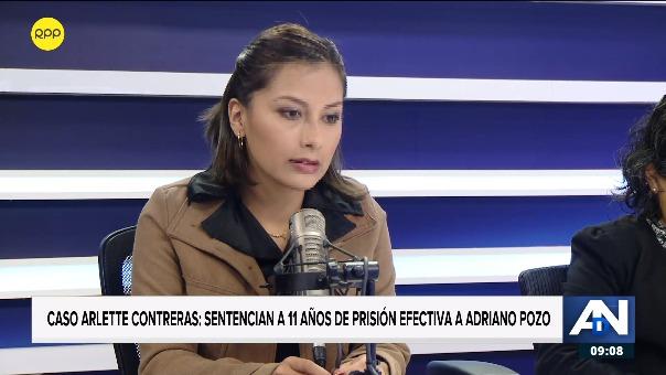 Arlette Contreras en entrevista