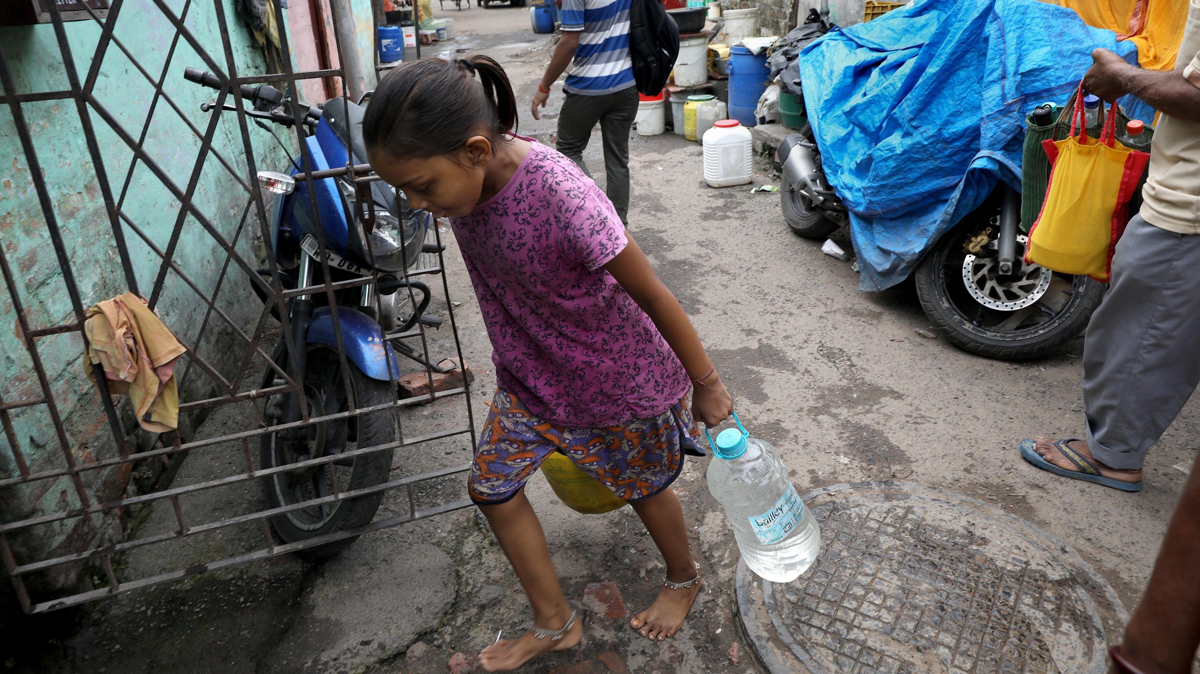El tráfico ilegal del agua en la India
