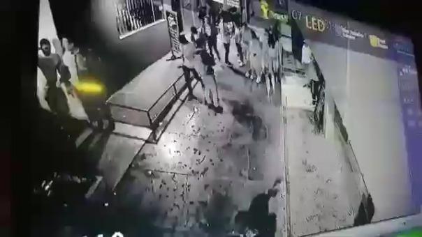 Ataque ocurrió la noche del último domingo en la urbanización Monserrate.