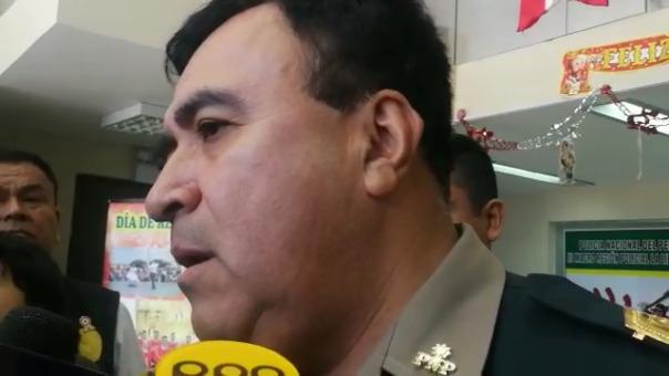 El jefe policial de La Libertad, Óscar Gonzáles Rabanal.