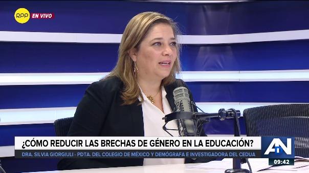 Entrevista a Silvia Giorguli, presidenta de El Colegio de México (Colmex).