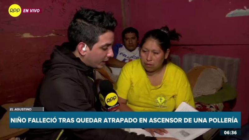 Un equipo de RPP Noticias llegó hasta El Agustino, donde vivía el menor.