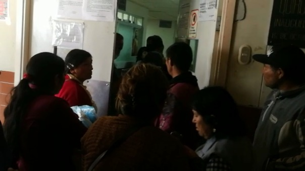 El menor estaba internado en el Hospital Belén de Trujillo desde el jueves.