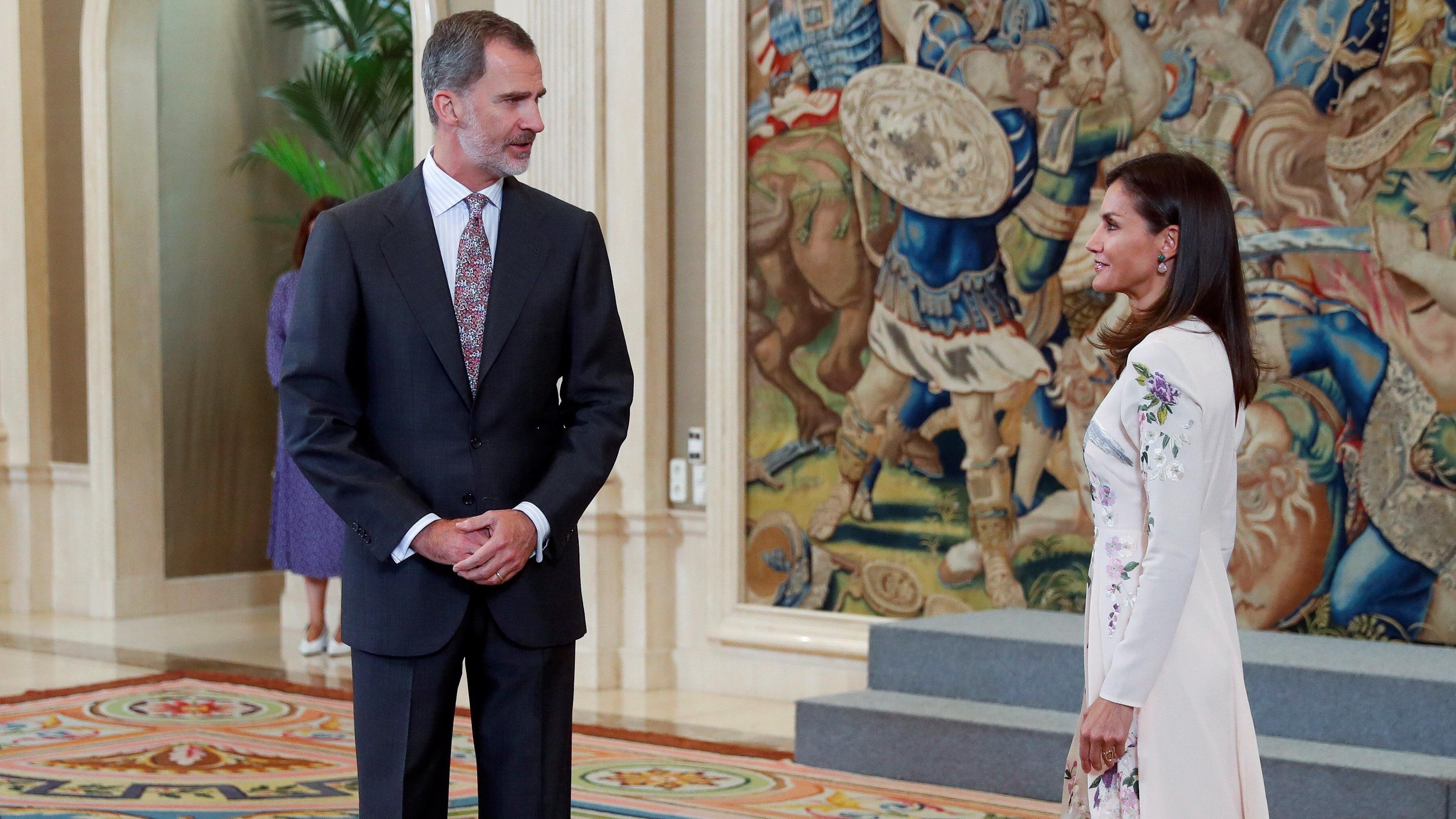 Los reyes de España protagonizaron un tenso momento que llamó la atención de los medios de comunicación
