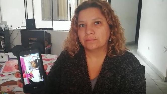 Evelyn Cárdenas Bautista indicó que su hija de ocho años se encuentra deprimida tras sufrir el robo de su procesador auditivo.