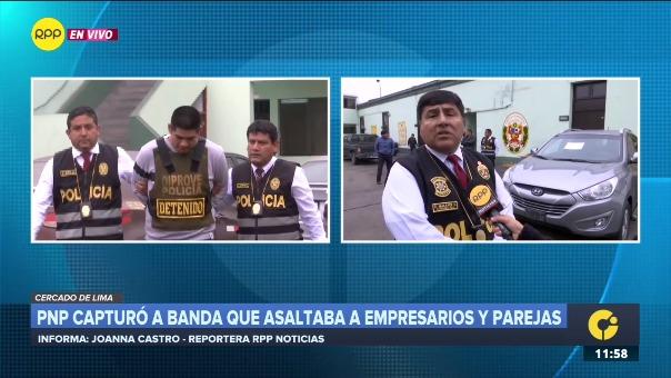 El Cnel. Alberto Malaver señaló que Kevin Rojas Jaico, alias 'El chato', tiene una denuncia pendiente por violación sexual en el Callao.