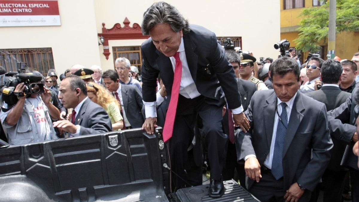 Alejandro Toledo fue arrestado esta mañana en Estados Unidos por mandato de extradición.