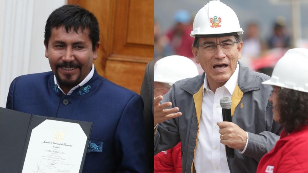 Elmer Cáceres anunció que el paro continuará.