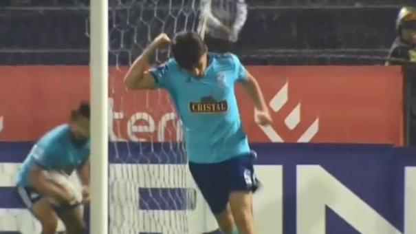 Omar Merlo puso el 2-1 a favor de Sporting Cristal.