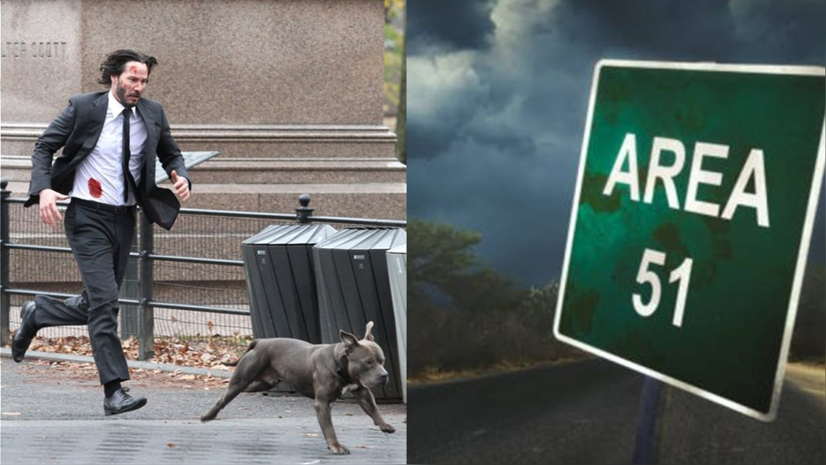 ¿Podrá Keanu entrar al Área 51? Depende de ti lograrlo.