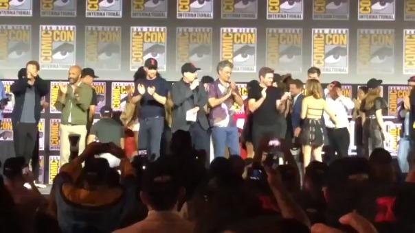 Este es el momento en el que el presidente de Marvel Studios anuncia a Los 4 Fantásticos.