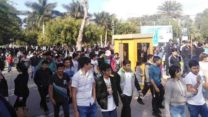 Postulantes fueron retirados de aulas de la UNPRG