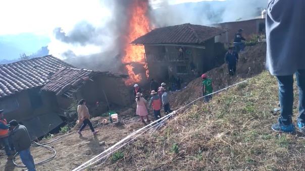 No hubo víctimas durante el desastre en la localidad de Julcán.
