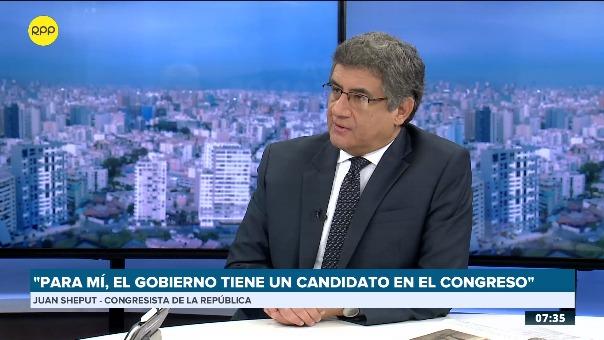 Juan Sheput, congresista no agrupado.