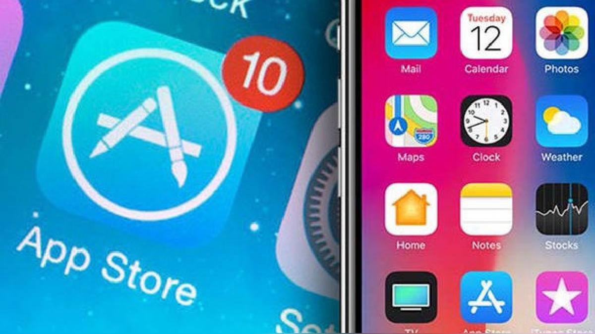 La App Store utiliza un sistema destacados, no todas las aplicaciones son visibles.
