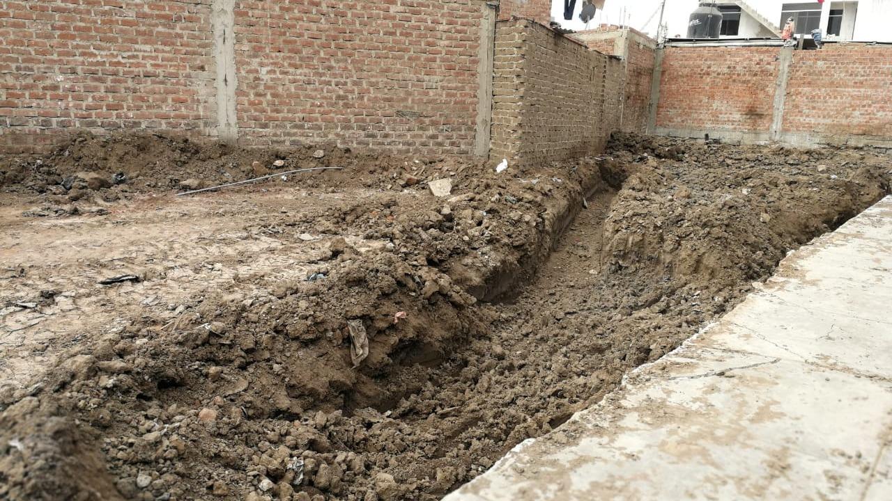 La arquitecta a cargo de la obra explicó en qué consisten los primeros trabajos para la construcción de la nueva casa.