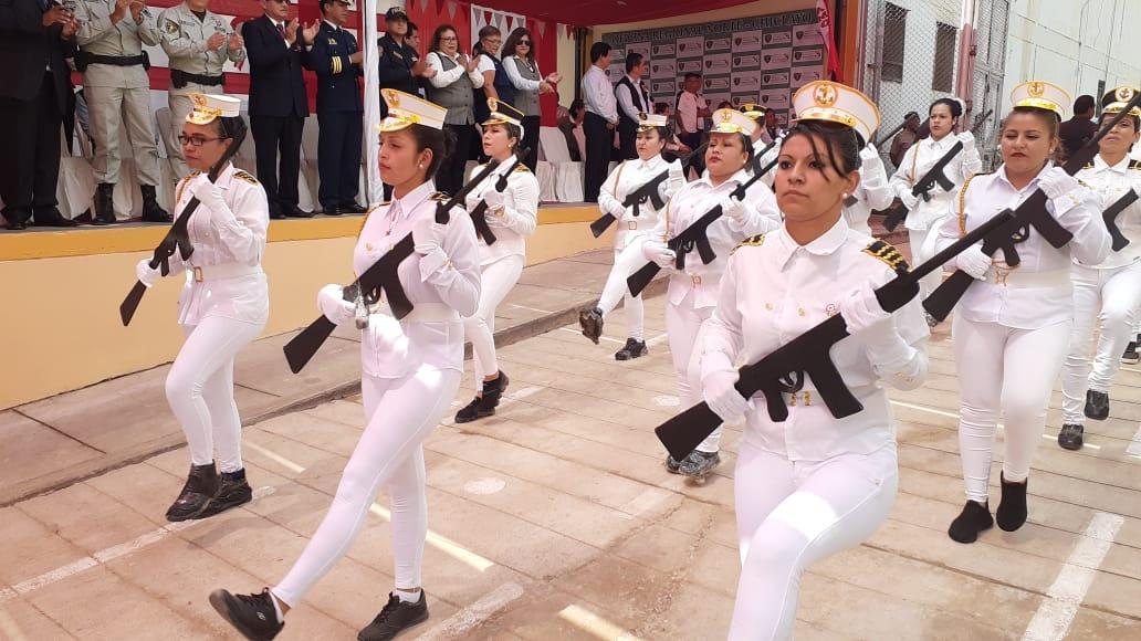 Internos del penal de Chiclayo adelantaron Fiestas Patrias